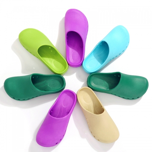 Surgical shoes, medical shoes, men's and women's hospital, experimental hole shoes, operating room slippers, comfortable and soft