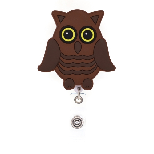 Owl General Mobilization PVC Badge Reel