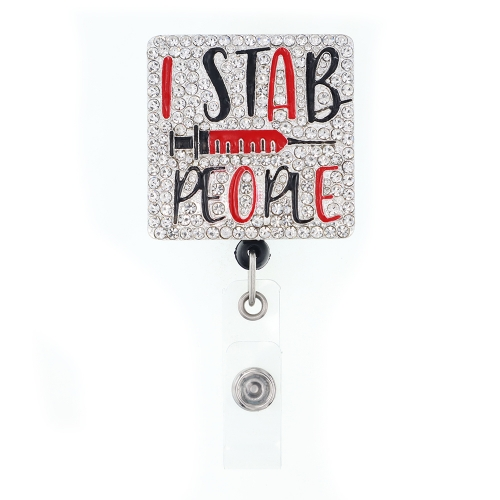 Badge Reel Badge Holder