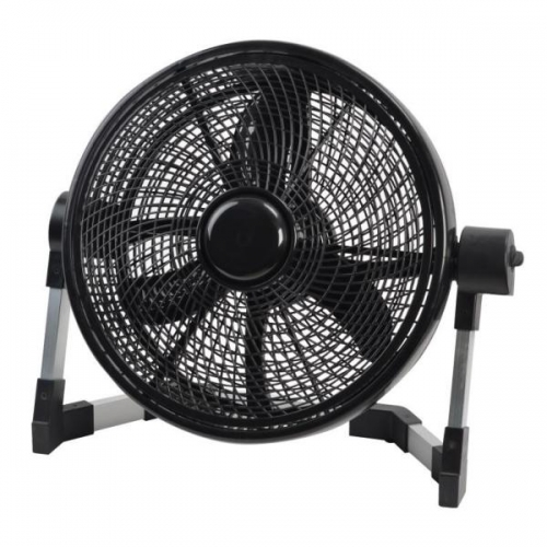 "12"" Floor Fan With Turbo"
