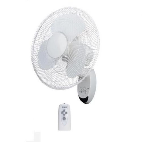 "16"" Wall Fan With Remote Control"