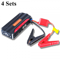 GKFLY 4Sets Emergency Car Jump Starter 12V Portable Power Bank Battery Charger Booster Starting Cable Device Die sel Petrol Auto  пусковое устройство