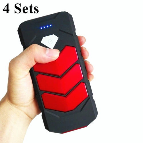 4Sets Starting Device 20000mAh Car Jump Starter Power Bank 12V 400A Petrol D-iesel Car Charger For Car Battery Booster пусковое устройство