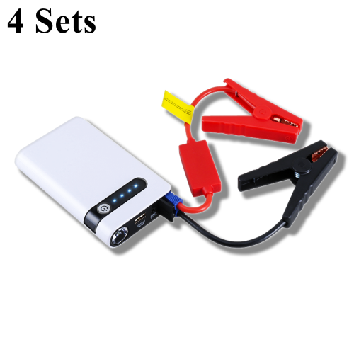 4Sets Car Jump Starter 12V Portable Car Charger Multi-function Start Jumper Car Battery Booster Buster Starting Device пусковое устройство