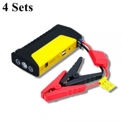 GKFLY 4Sets Emergency 12V 600A Car Jump Starter Power Bank Petrol D-iesel Car Charger For Car Battery Booster Buster Car Starter  пусковое устройство