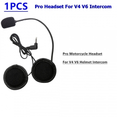 Pro Motorcycle Headset For V4 V6 Helmet Intercom High Quality Intercom Accessories Earphone For Motorcycle Helmet Headset