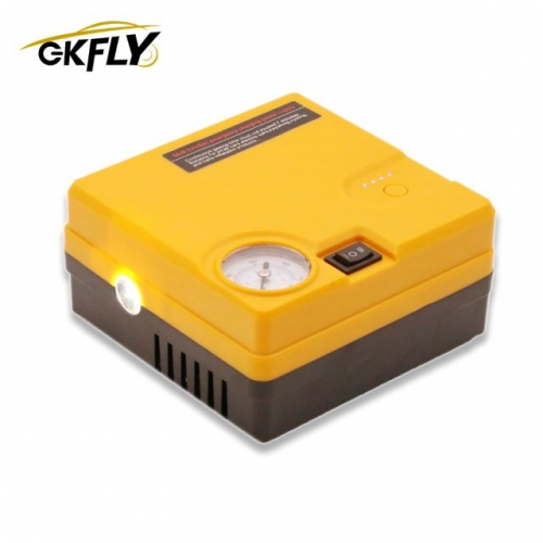 GKFLY 16800mAh Portable Power Bank Car Jump Starter Air Compressor 12V 400A Charger Led Starting Device