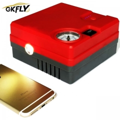 GKFLY Emergency Starting Cables Device 12V 400A Multifunctional Air Pump 16800mAh Car Jump Starter Booster LED