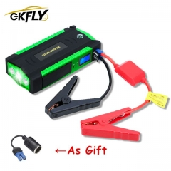 GKFLY High Capacity Starting Device Booster 600A 12V Car Jump Starter Power Bank Car Starter For Car Battery Charger Buster LED пусковое устройство