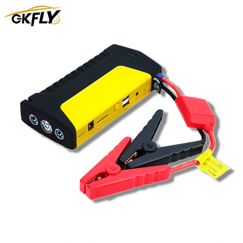 GKFLY Emergency 12V 600A Car Jump Starter Power Bank Petrol D-iesel Car Charger For Car Battery Booster Buster Car Starter LED пусковое устройство