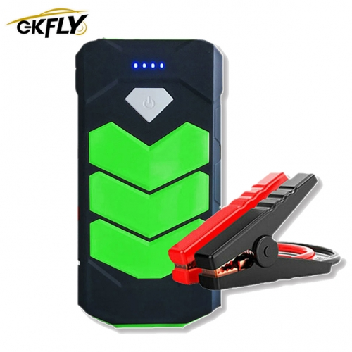 GKFLY Emergency 20000mAh Starting Device 12V 400A Car Battery Charger Petrol D iesel Car Jump Starter Power Bank Car Charger LED пусковое устройство