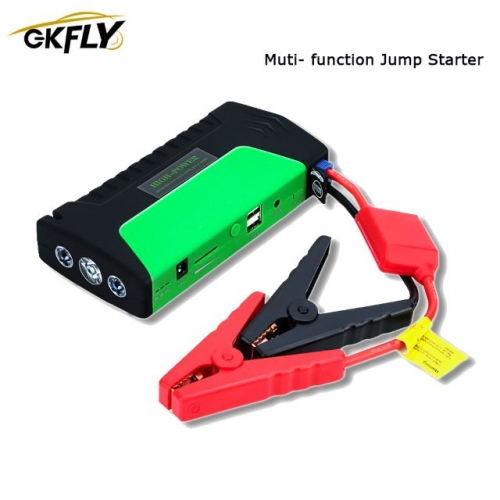 GKFLY High Power Emergency Jump Starter 600A Multifunction Portable Power Bank 12V Car Battery Booster Starting Device Cables пусковое устройство