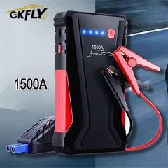 GKFLY Super Power 1500A Car Jump Starter Power Bank 12V Petrol D-iesel Starting Device Car Charger For Car Battery Booster пусковое устройствBuster о