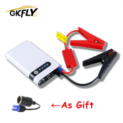 GKFLY Car Jump Starter 12V Portable Car Charger Multi-function Start Jumper Emergency Car Battery Booster Buster Starting Device пусковое устройство