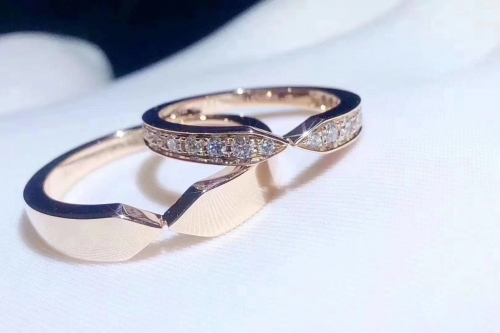 18K Gold Couple Ring