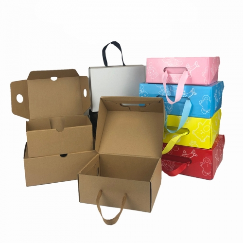 Boxes with Custom Logo Packing Shoes Design Wholesale Collapsible Sneaker Storage Shoe Box