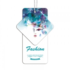 Recycled China Design Hang Tags Luxury Product Printed Paper Custom Price Clothing Tag
