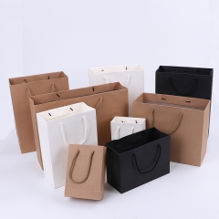 Bag Wholesale Custom Design 25Kg High Quality Yellow Takeout Laminated Brown Kraft Paper Bags