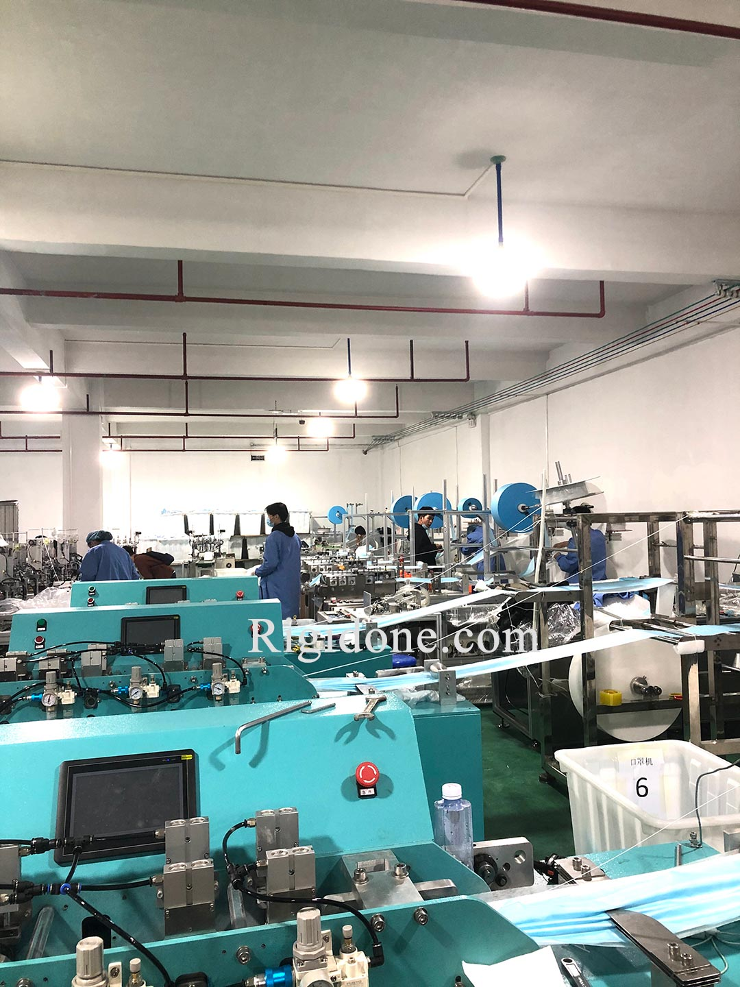 China Disposable Face Mask Factory