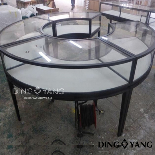 Round Jewellery Shop Counter Furniture