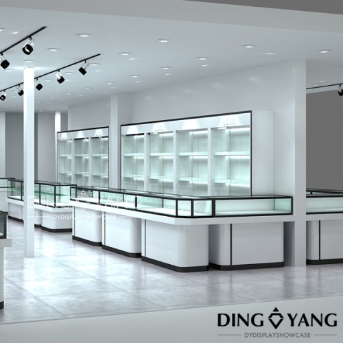 Counter Design For Jewellery Shop