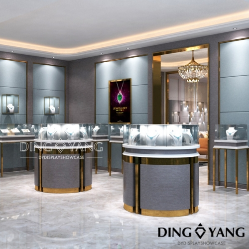 Jewellery Shop Showroom Design
