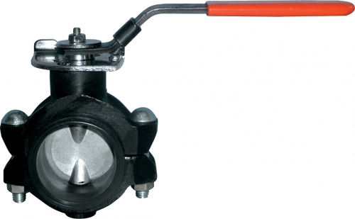 Shouldered Ends Center Line Butterfly Valve FIG.2952A