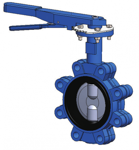 Lug Butterfly Valve FIG.2502(2503-2504)