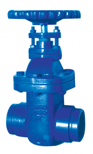 Grooved Ends NRS Metal Seated Gate Valve , FIG.3924