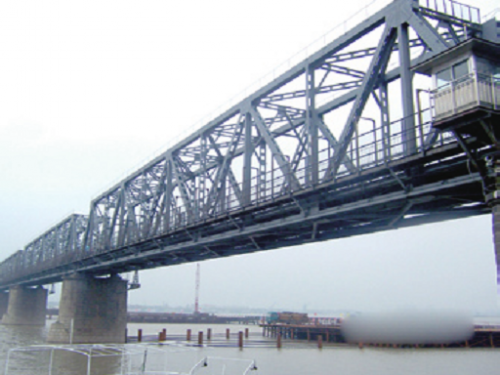 Structural steel for bridge
