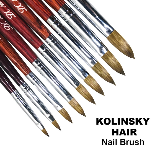 Kolinsky Hair Nail Art Brush