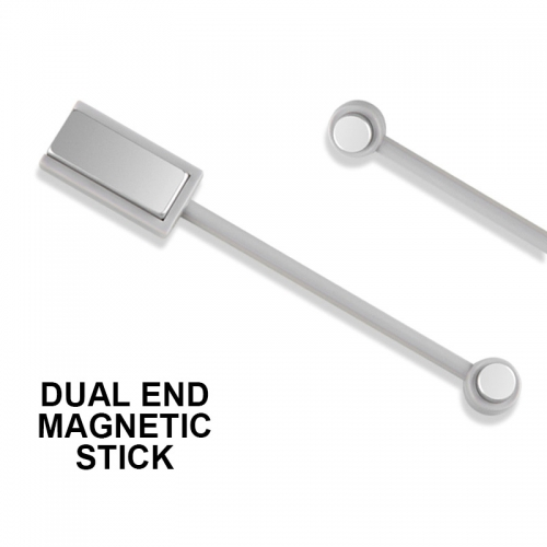 Dual-end Magnetic Stick Grey Color