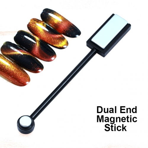 Dual-end Magnetic Stick Black Color