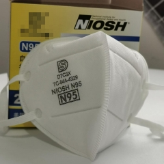 20 Packs N95 Mask Respirator Face Mask For Gem Protection Dust and Air Pollution with Valve Niosh Approved