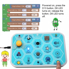 kidsbits Maker coding box V1.0 starter kit for Arduino STEM Education 7+
