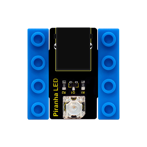 kidsbits Blocks Coding Piranha LED Flicker Module (Black and Eco-friendly)