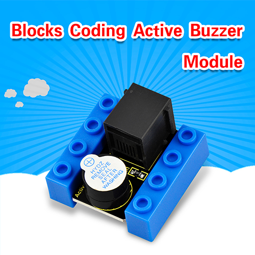 kidsbits Blocks Coding Active Buzzer Module