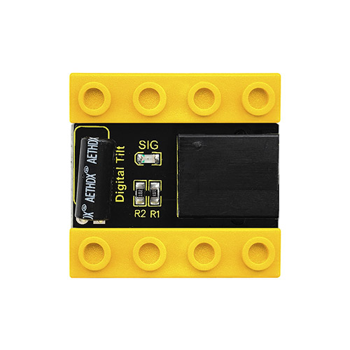kidsbits Blocks Coding Digital Tilt Sensor (Black and Eco-friendly)