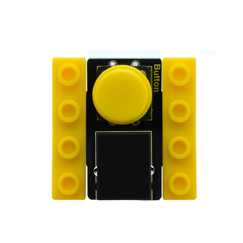 kidsbits Blocks Coding Button Module (Black and Eco-friendly)