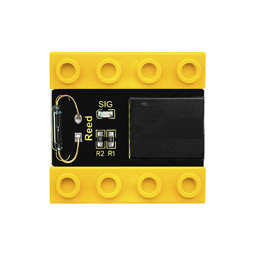 kidsbits Blocks Coding Reed Sensor (Black and Eco-friendly)