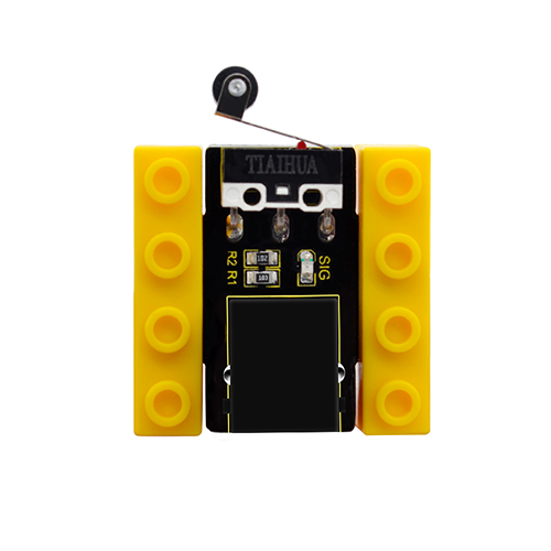 kidsbits Blocks Coding Crash Sensor (Black and Eco-friendly)