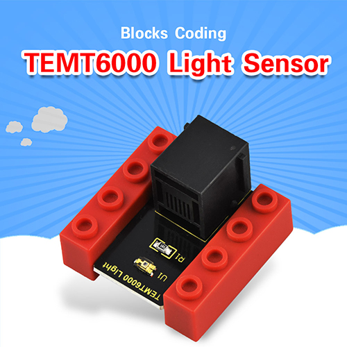 kidsbits Blocks Coding TEMT6000 Light Sensor