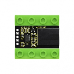 kidsbits Blocks Coding ADXL345 Acceleration Module (Black and Eco-friendly)