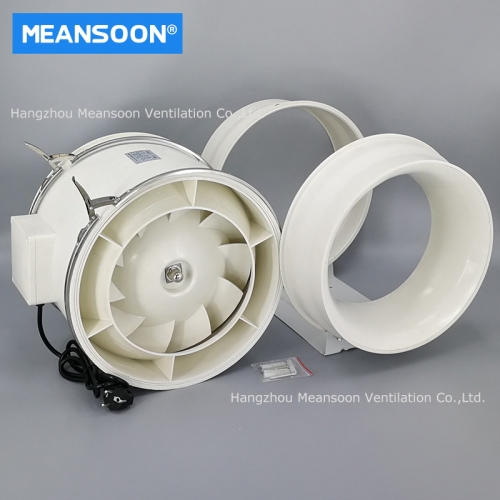 12 Inches 315 Plastic Mixed Flow Inline Duct Fans