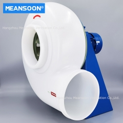 250 Plastic Corrosion Resistant exhaust fan for chemical laboratory