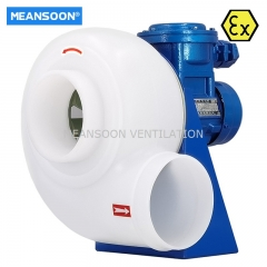 6 inches Plastic Explosion proof Centrifugal Fan for laboratory