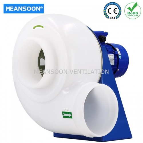 Plastic Corrosion Resistant fume hood exhaust blower