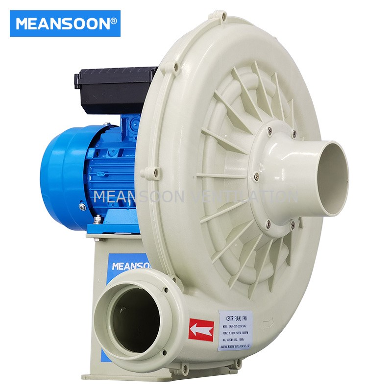 MEANSOON CREF-2S75 Plastic Lab Chemical resistant exhaust fan