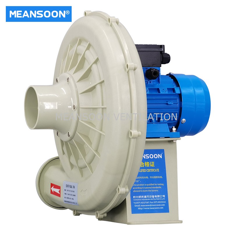 MEANSOON CREF-2S75 PP Lab Chemical resistant fan