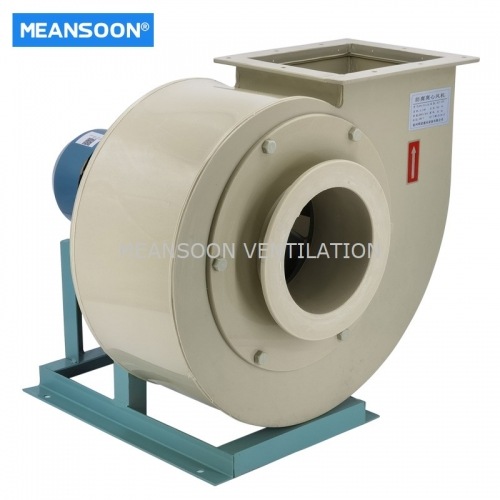 PP4-72-5A Polypropylene Anti-Corrosive Centrifugal Fan